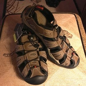 Men's Eddie Bauer Leather Sandals